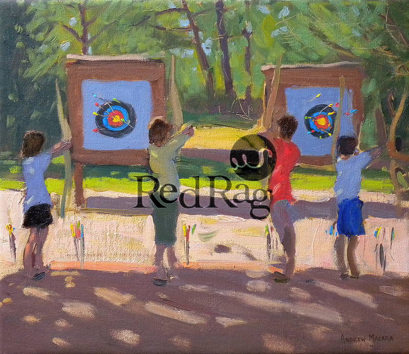 Andrew MACARA  - Young Archers, France