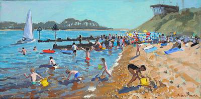 British Artist Andrew MACARA - Coastguards Lookout, Norfolk