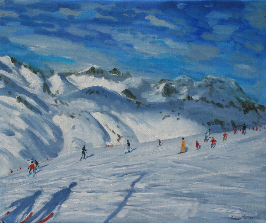 Andrew MACARA  - Mountain Tops, Tignes -France