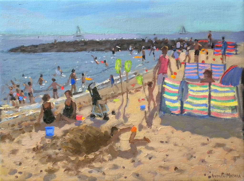 Andrew MACARA  - Digging in the Sand, Clacton