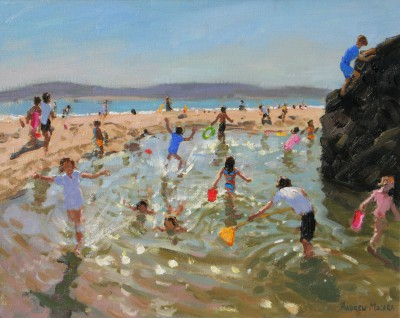 British Artist Andrew MACARA  - Rock Pool