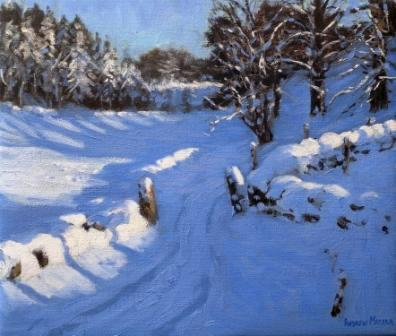 Limited Edition Prints Artist Andrew Macara - Stone Posts