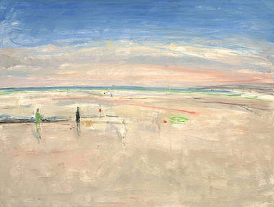 British Artist Ann SHRAGER - The Beach