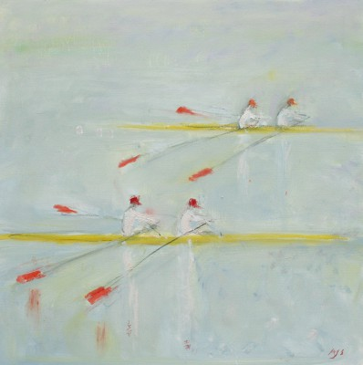 Ann SHRAGER - Scullers I