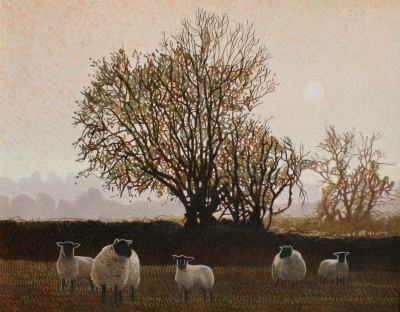 Annie OVENDEN - Late Afternoon Walk