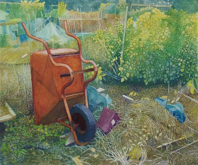 Annie OVENDEN - The Rusty Wheelbarrow at the Allotment