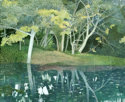 Annie OVENDEN - On The Banks of the River Beach, Lostwithiel