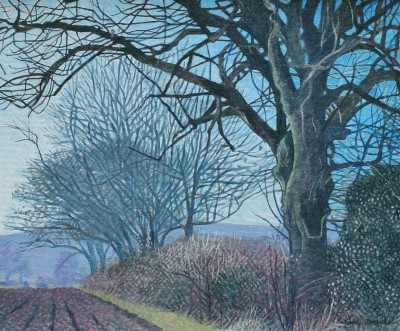 British Artist Annie OVENDEN - Country Walk, Cornwall I