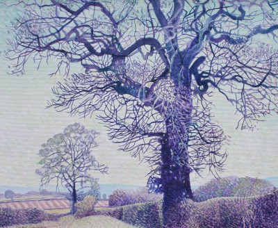 British Artist Annie OVENDEN - Country Walk, Cornwall II