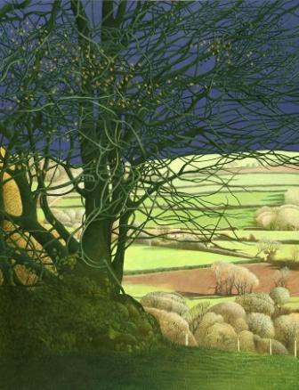 Limited Edition Prints Artist Annie Ovenden - View From The Hill