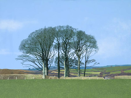 Limited Edition Prints Artist Annie Ovenden - Wenmouth Cross