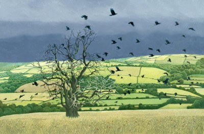 Limited Edition Prints Artist Annie Ovenden - Countryside Alarm