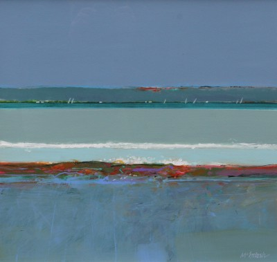 Archie Dunbar McINTOSH, contemporary artist&nbsp;-&nbsp;<span style='color:red;font-size: 200%'>&#8226;</span> Spring Tide, Dornoch