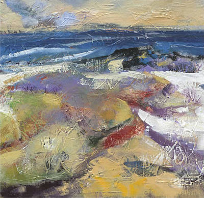 British Artist Arie Vardi - Colours of Iona