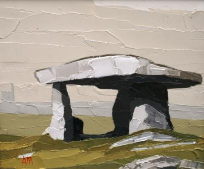 British Artist Austin MOSELEY - Lanyon Quoit, Cornwall
