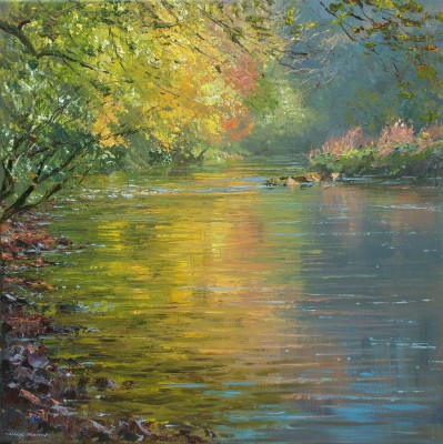 Mark PRESTON - Autumn Morning, Miller's Dale