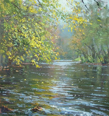 Mark PRESTON - Autumn Reflections, River Derwent