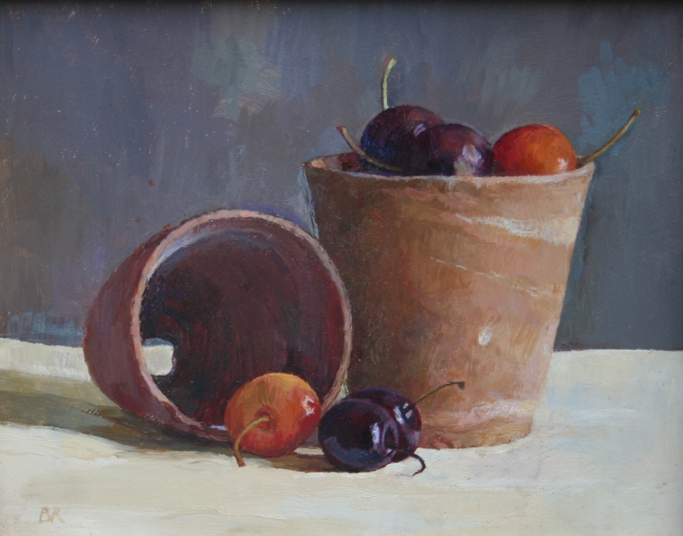 Barbara RICHARDSON  RBA - Cherries and Pots