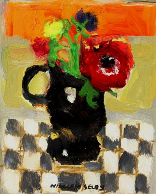 British Artist William SELBY - Black Jug