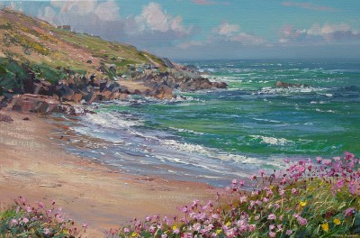 Mark PRESTON - Blue Sky and Thrift, Portheras