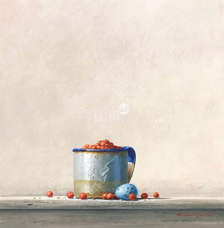 Bryan HANLON - Berries and Thrush Egg I