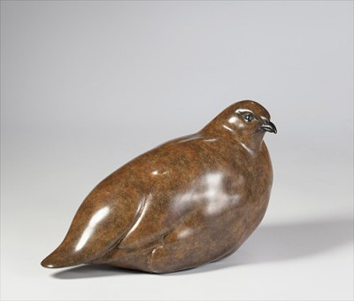 Sculpture and Sculptors Artist Carl LONGWORTH - Partridge ll (3/25)
