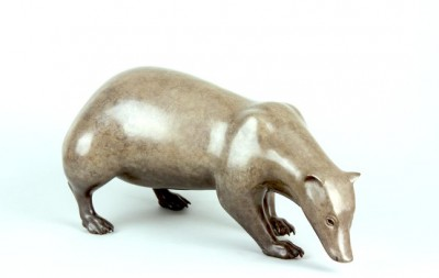 Sculpture and Sculptors Artist Carl LONGWORTH - Badger (Edition 10/25)