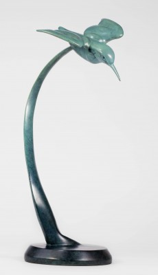 Sculpture and Sculptors Artist Carl LONGWORTH - Kingfisher II (Edition 11/25)