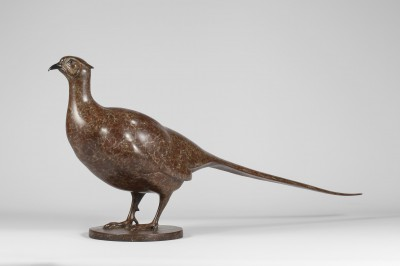 Sculpture and Sculptors Artist Carl LONGWORTH - Pheasant
