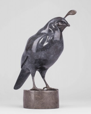 Sculpture and Sculptors Artist Carl LONGWORTH - Quail