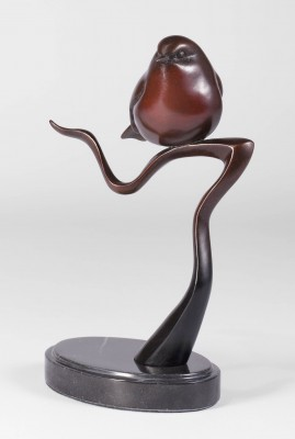 Sculpture and Sculptors Artist Carl LONGWORTH - Robin (Edition AC/36)