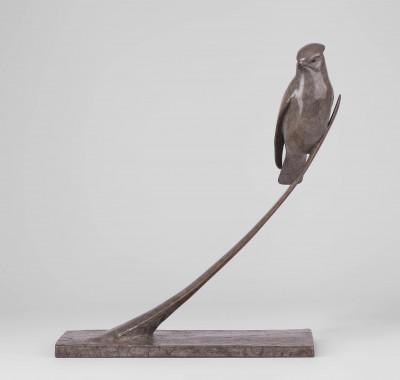 Sculpture and Sculptors Artist Carl LONGWORTH - Waxwing