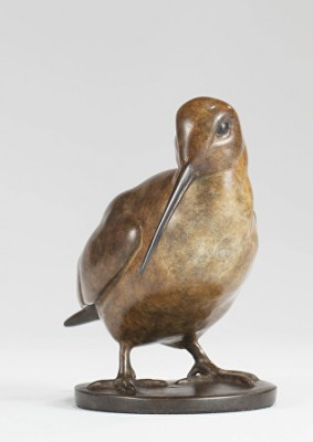 Sculpture and Sculptors Artist Carl LONGWORTH - Woodcock II - mini (Edition 5/175)