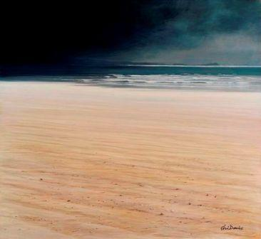 Limited Edition Prints Artist Ceri Auckland Davies - Approaching Storm Cefn Sidan