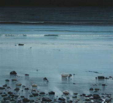 Limited Edition Prints Artist Ceri Auckland Davies - Blue Light Aber Rhigian
