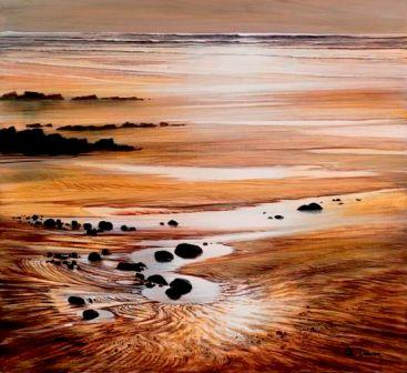 Limited Edition Prints Artist Ceri Auckland Davies - Marloes Sands