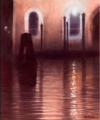 Limited Edition Prints Artist Ceri Auckland Davies - Venice Nocturne Number One