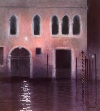 Limited Edition Prints Artist Ceri Auckland Davies - Venice Nocturne Number Three