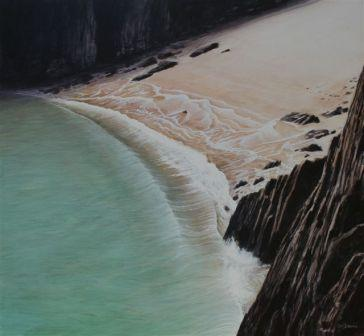 Limited Edition Prints Artist Ceri Auckland Davies - Wave Skrinkle Haven