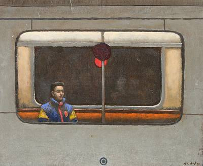British Artist Charles HARDAKER - The Tube - Solitary