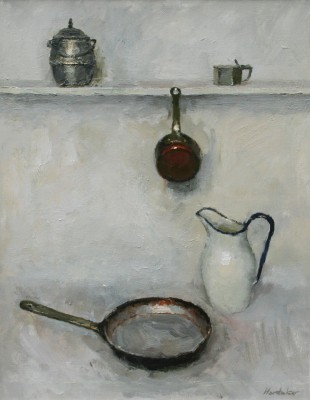Charles HARDAKER - Still Life with Frying Pan