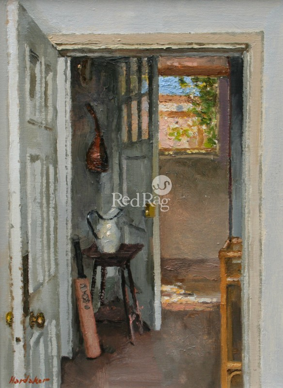 Charles HARDAKER - Open Doors with Cricket Bat