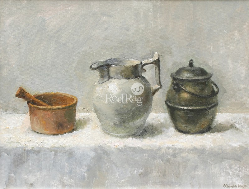 Charles HARDAKER - Still Life with Three Objects