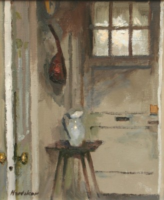 Charles HARDAKER - Interior - Mandolin and Jug