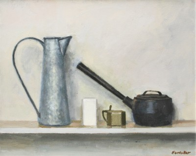 British Artist Charles HARDAKER - Still Life with Utensils