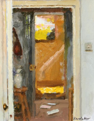 British Artist Charles HARDAKER - Morning Door