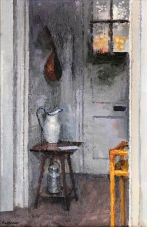 British Artist Charles HARDAKER - Interior With Three Objects