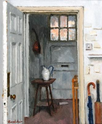 Charles HARDAKER - Interior with Letter
