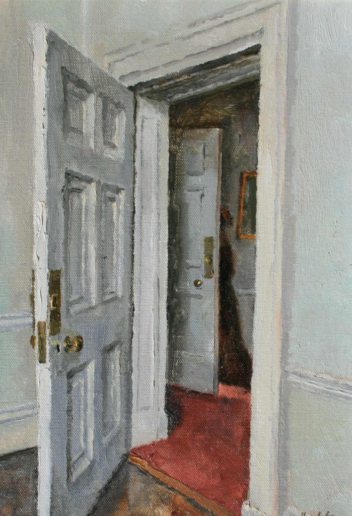 Charles HARDAKER - Interior with Figure