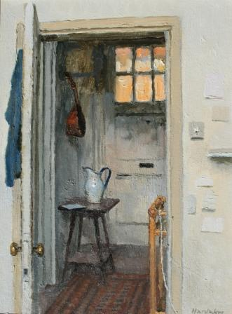 Charles HARDAKER - Interior - Blue and Brown